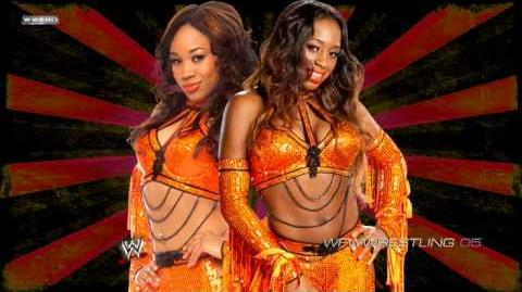 2013 Naomi & Cameron Lynn 1st WWE Theme ''Somebody Call My Momma''