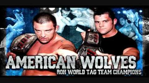"""American Wolves ROH On HDNet Theme """"Clutch"""" by Barrie Gledden"""