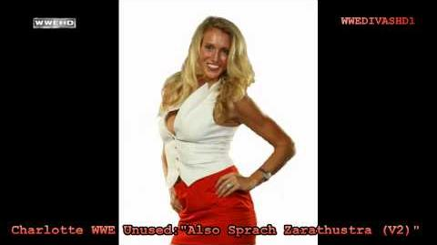 "Charlotte WWE (NXT) Unused Theme Song ""Also Sprach Zarathustra (V2)"" HD"