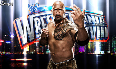 Wwe The Rock Wallpaper 2012 hd-5