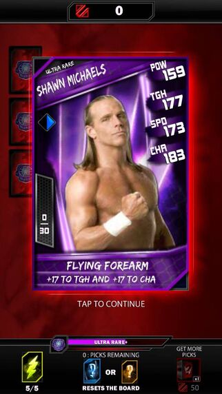 Ultra Rare Shawn Michaels