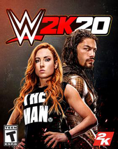 WWE 2K20 - Game cover