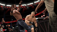 Brock-Lesnar Seth-Rollins WWE2K17