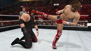 Bryan kick Kane WWE 2K15