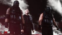 Authors of Pain WWE2K18