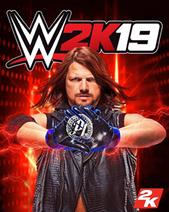 WWE 2K19 cover art