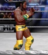 Kofi Kingston primary attire