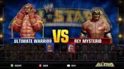 Demo character menu