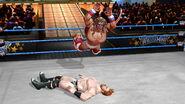 Ultimate Warrior splashes Sheamus