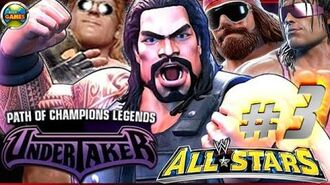 """WWE All Stars Part 3"""" Path of Champions"""" The Undertaker PSP PPSSPP - Roman Reigns"""