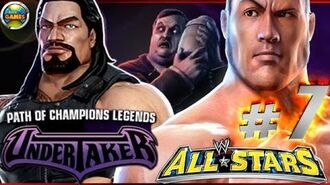 """WWE All Stars Part 7"""" Path of Champions"""" The Undertaker PSP PPSSPP - Roman Reigns"""