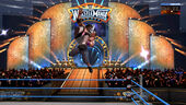John Cena slamming Bret Hart at WrestleMania