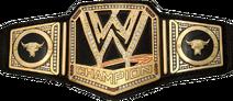 The Rock WWE Championship