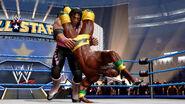 Kofi Kingston hurricanrannas Bret Hart