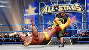John Cena punches Hulk Hogan in Batallion shirt