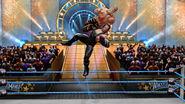 Undertaker chokeslams Shawn Michaels