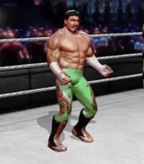 Eddie Guerrero alternate attire