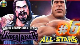 """WWE All Stars Part 6"""" Path of Champions"""" The Undertaker PSP PPSSPP - Roman Reigns"""