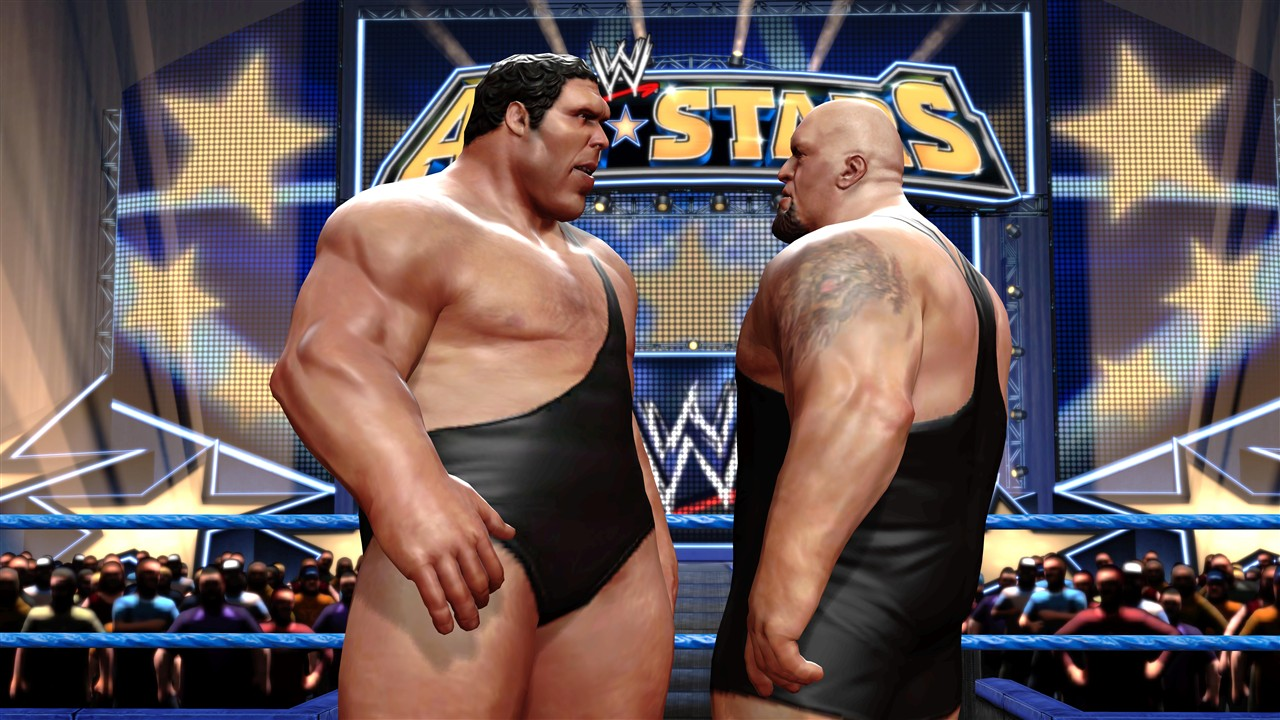 Andre The Giant And Big Show Face Off