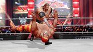 Triple H clotheslines Hulk Hogan