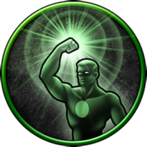 Green Lantern platinum