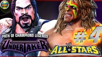 """WWE All Stars Part 4"""" Path of Champions"""" The Undertaker PSP PPSSPP - Roman Reigns"""