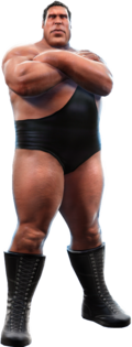 Andre the Giant giant render