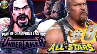 """WWE All Stars Part 8"""" Path of Champions"""" The Undertaker PSP PPSSPP - Roman Reigns"""