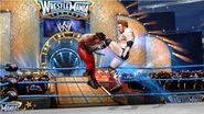 Sheamus kicks Ricky Steamboat