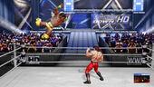 Kofi Kingston flys at Ricky Steamboat on SmackDown
