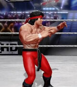 Ricky Steamboat primary attire
