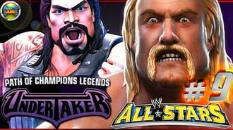 """WWE All Stars Part 9"""" Path of Champions"""" The Undertaker PSP PPSSPP - Roman Reigns"""