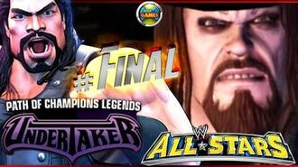 """WWE All Stars Part 10 Final """" Path of Champions"""" The Undertaker PSP PPSSPP - Roman Reigns"""