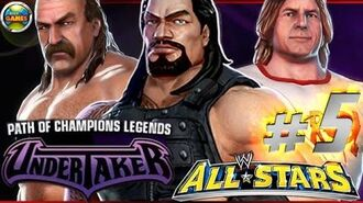 """WWE All Stars Part 5"""" Path of Champions"""" The Undertaker PSP PPSSPP - Roman Reigns"""