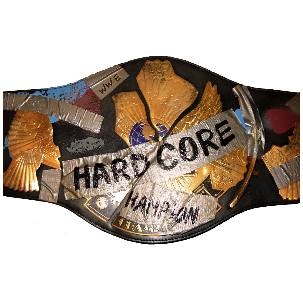 Wwe Hardcore Title Belt