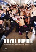 Royal Rumble (2008) poster