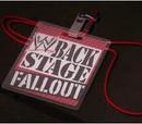 WWE Backstage Fallout