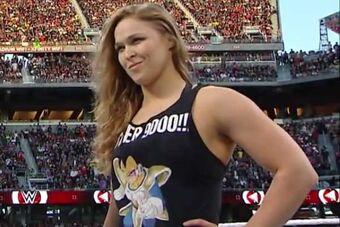 Ronda Rousey MMA Judo Boogeyman T Shirt