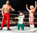 Hornswoggle and The Great Khali