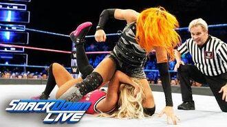 Becky Lynch vs. Carmella- SmackDown LIVE, Oct. 10, 2017