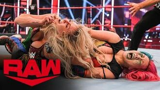 Asuka vs. Charlotte Flair – Raw Women's Championship Match- Raw, June 22, 2020