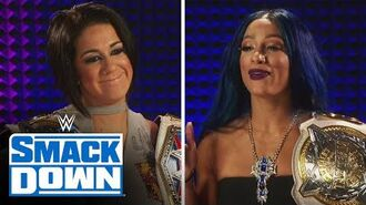 Bayley & Sasha Banks pay tribute to Bayley & Sasha Banks- SmackDown, July 3, 2020