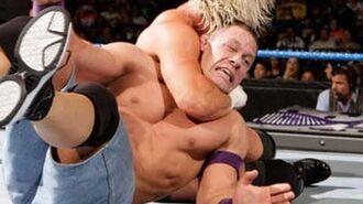 SmackDown- John Cena vs. Dolph Ziggler & Vickie Guerrero