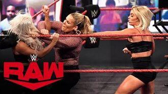 Mandy Rose & Dana Brooke throw down with Natalya & Lana- Raw, Oct. 12, 2020