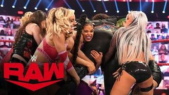 Dual-Brand Battle Royal for a Raw Women's Title Opportunity- Raw, Oct. 12, 2020