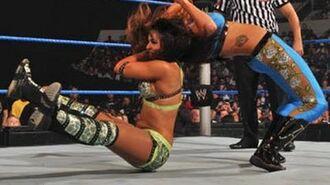 SmackDown- Rosa Mendes vs. Layla