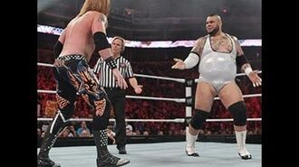 Raw - Brodus Clay vs