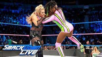 Charlotte Flair, Naomi & Becky Lynch vs. Natalya, Lana & Tamina- SmackDown LIVE, Oct. 17, 2017
