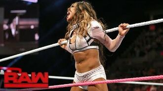 Sasha Banks vs. Alicia Fox- Raw, Oct. 16, 2017