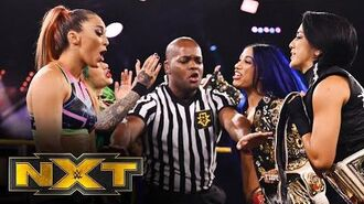 Bayley & Banks vs. Nox & Blackheart – Women's Tag Team Title Match- WWE NXT, June 17, 2020